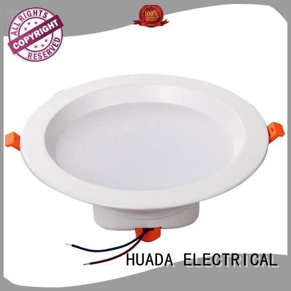 HUADA ELECTRICAL led down lights for homes manufacturer school
