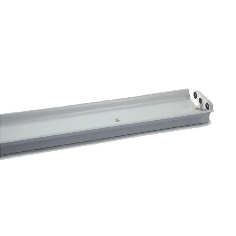 LED T8 Double Lighting Fixture With Reflector