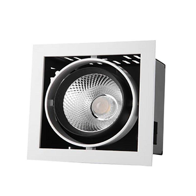 2 Heads LED Cob Grille Light Spotlight G11 Series