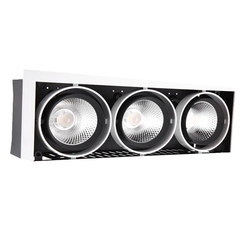 2 Heads LED Cob Grille Light Spotlight G11 Series