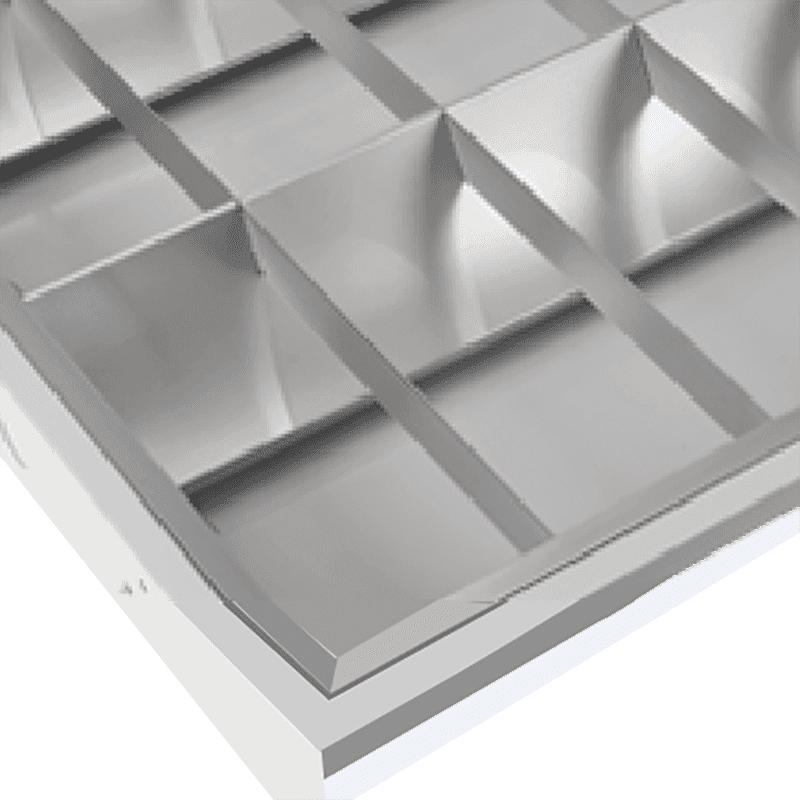 Fluorescent Batten Fixtures LED Grille Lighting Fixture 1200×300
