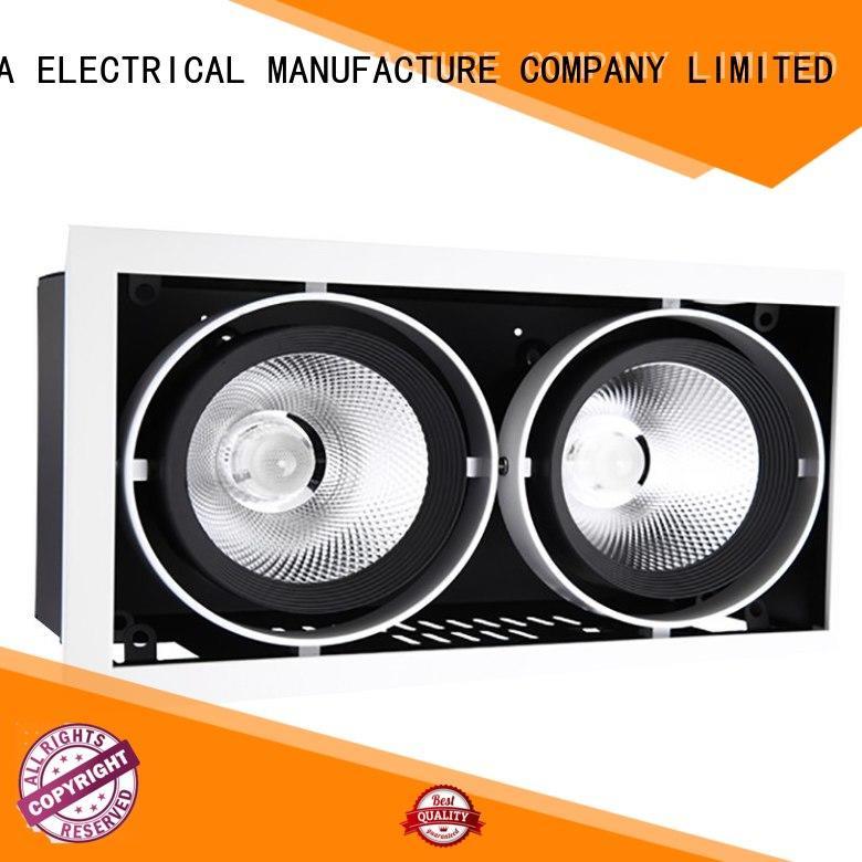 Quality HUADA ELECTRICAL Brand 6 spotlight ceiling bar angle 27w
