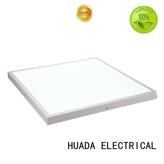 factory price led display panel light square office