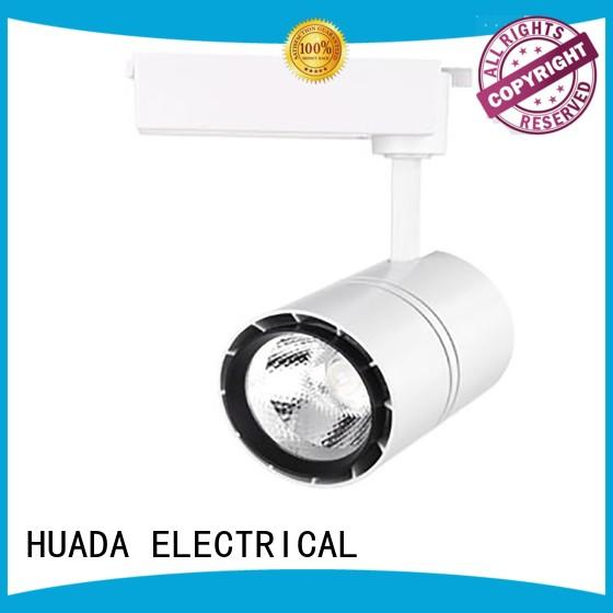 HUADA ELECTRICAL track spotlights manufacturer shopping mall