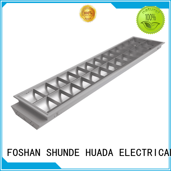 HUADA ELECTRICAL integrated led light fixture bulk production office