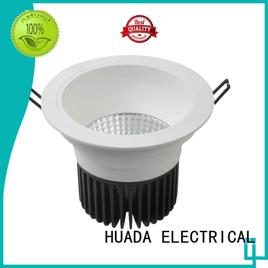 HUADA ELECTRICAL dimmable commercial led downlights light service hall