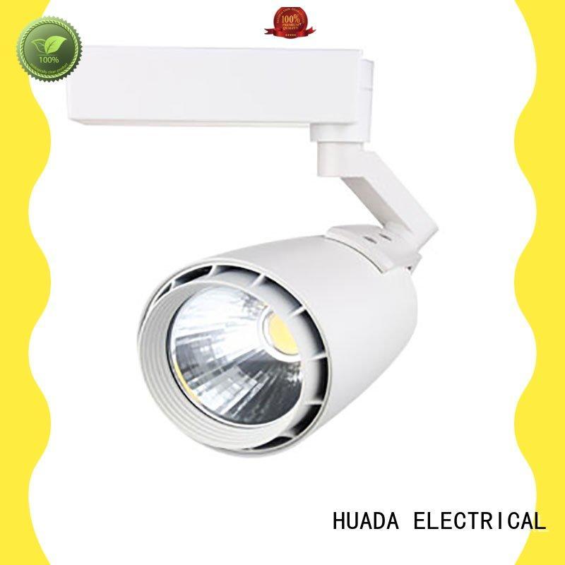 HUADA ELECTRICAL aluminium track light fitting manufacturer factory