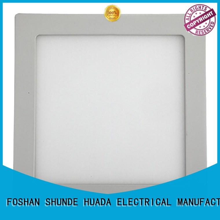 HUADA ELECTRICAL panel led wall panel light light square for decoration