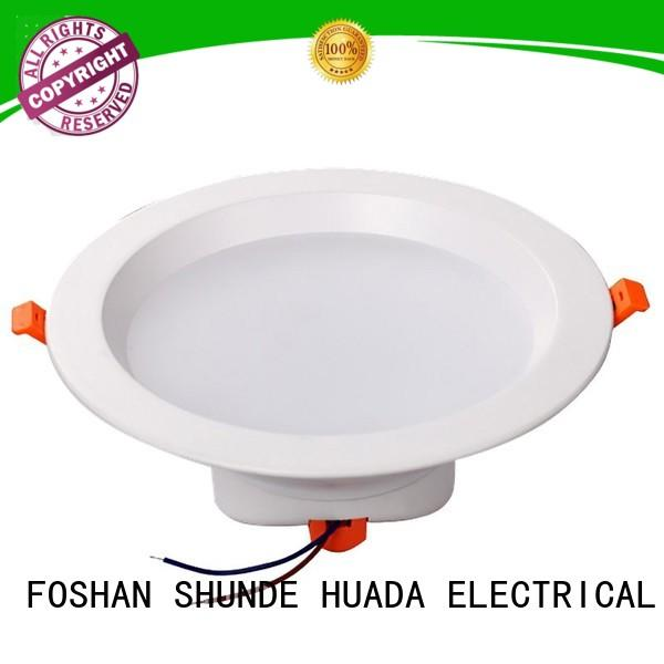 HUADA ELECTRICAL Brand recessed black led downlights led supplier