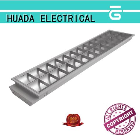 HUADA ELECTRICAL aluminum reflector integrated led light fixture manufacturer service hall