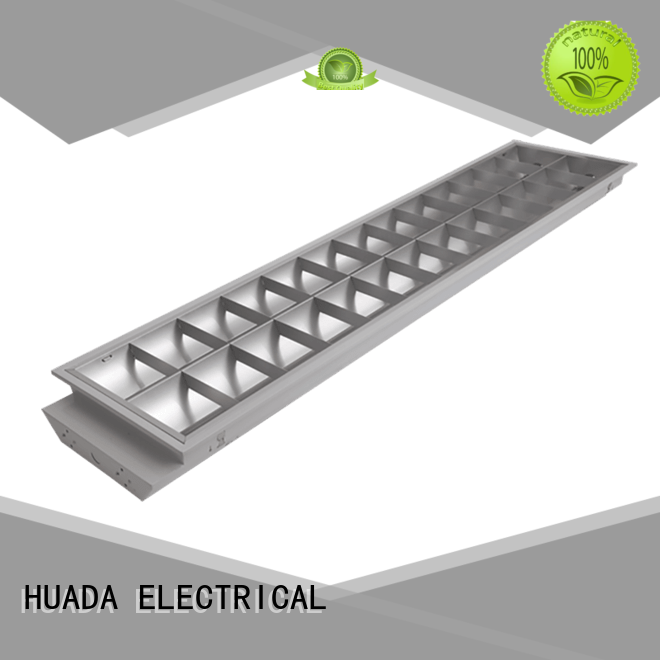 HUADA ELECTRICAL grille lamp led fluorescent light fixtures non-colour changing office