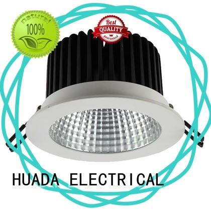 HUADA ELECTRICAL colour changing led downlights diffuse refection school