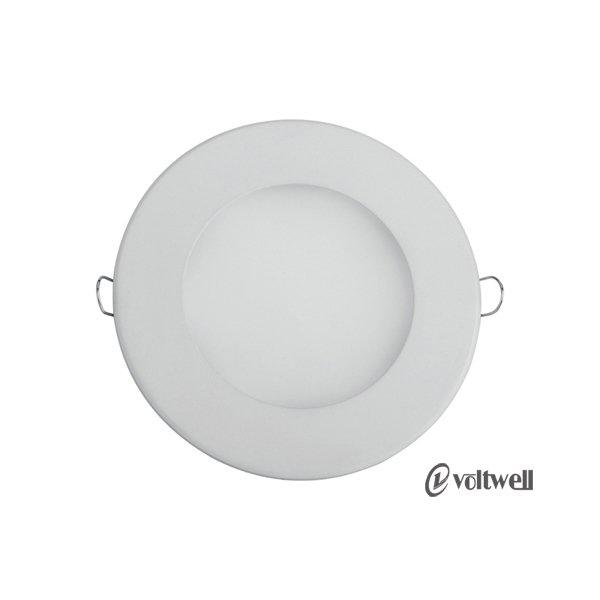 High Quality LED Die-Casting Panel Light 6W Round