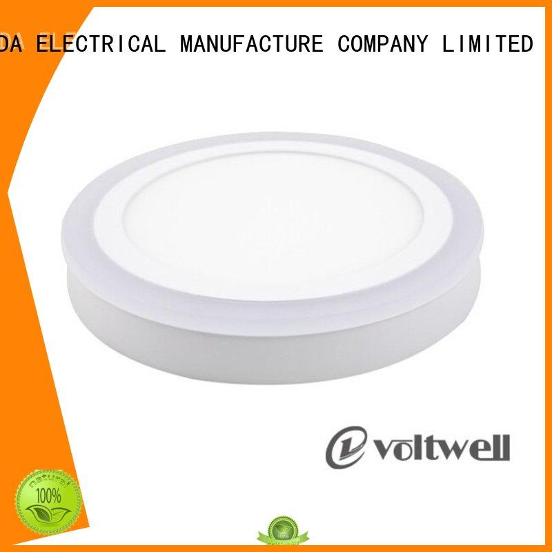 round 12w 15w HUADA ELECTRICAL Brand led panel light dimmable manufacture