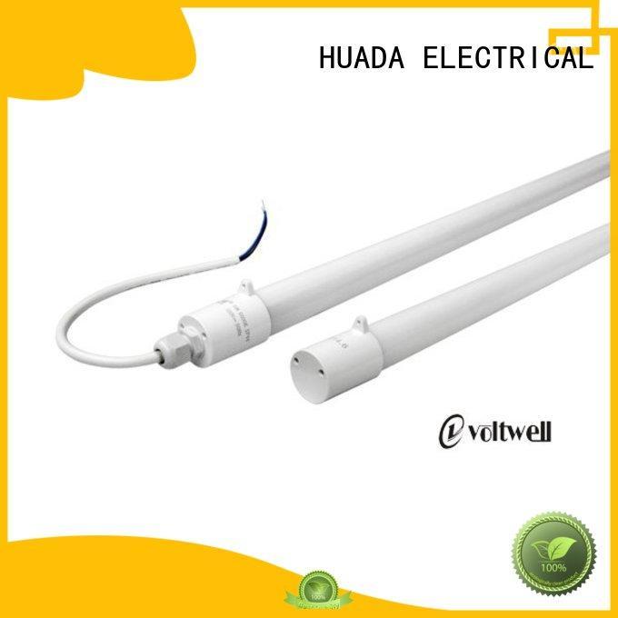 HUADA ELECTRICAL waterproof best led tube light built-in tube office