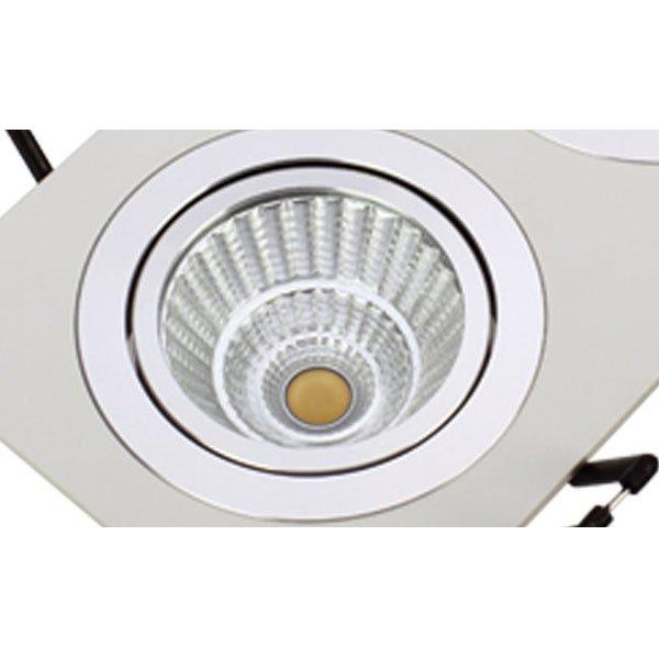 Modern LED 3*7W Square Recessed Ceiling Spotlight