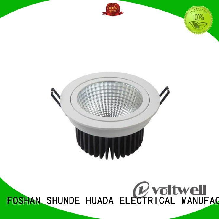 9w adjustable dimmable led downlights long lifetime office HUADA ELECTRICAL