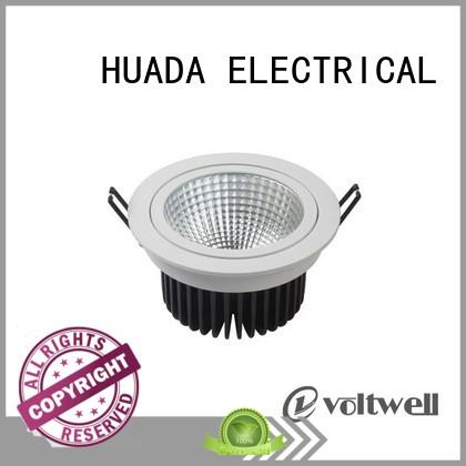 Custom led 15w adjustable spotlights ceiling HUADA ELECTRICAL downlight