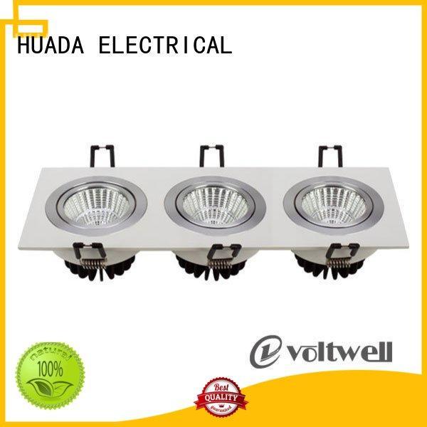 6 spotlight ceiling bar heads product square led spotlights adjustable HUADA ELECTRICAL Brand