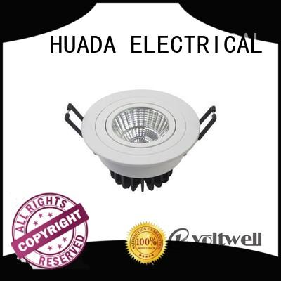 7w led downlights for sale diffuse refection office HUADA ELECTRICAL