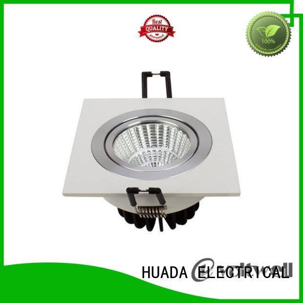 cob heads square led spotlights led HUADA ELECTRICAL Brand company