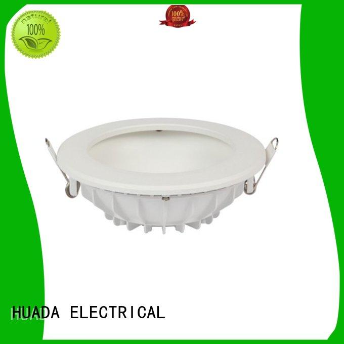 HUADA ELECTRICAL led downlights for sale recessed factory