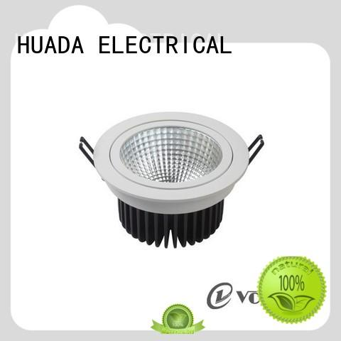 HUADA ELECTRICAL adjustable dimmable led downlights long lifetime factory