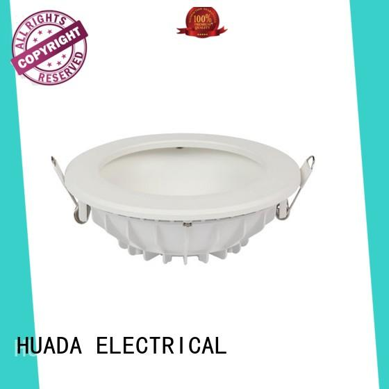HUADA ELECTRICAL adjustable commercial led downlights diffuse refection factory