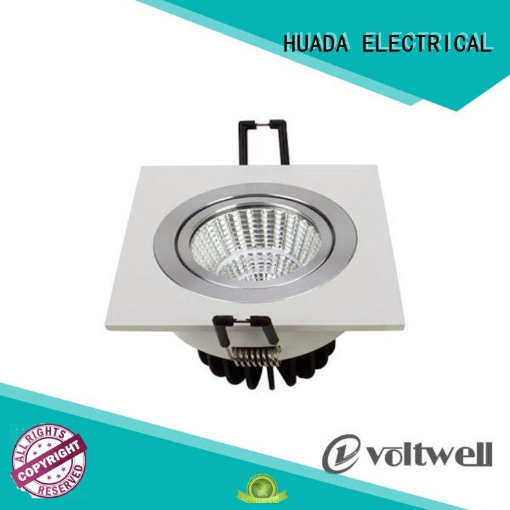 recessed square led spotlights dimmable factory