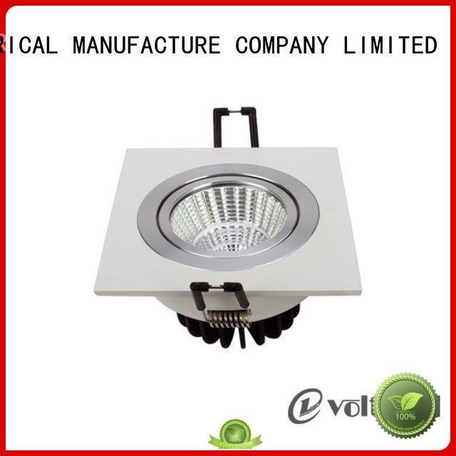 modern adjustable 6 spotlight ceiling bar HUADA ELECTRICAL manufacture