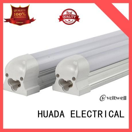 HUADA ELECTRICAL classroom led tube light fittings long lifetime service hall