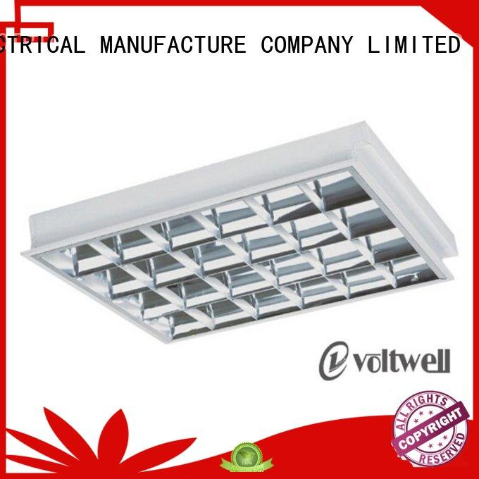 Hot Sale T8 Surface Grid Lamp Fixture 4X20W