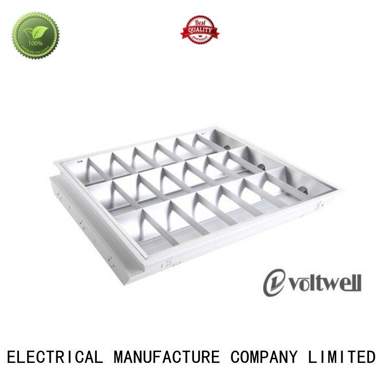 grille lamp led fluorescent light fixtures non-colour changing factory