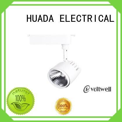 track light showroom HUADA ELECTRICAL Brand track spotlights supplier