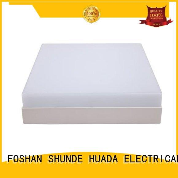 Square Office Ceiling Light Surface Mounted Led Panel Light Lamp 24W