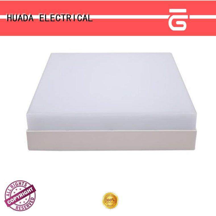 HUADA ELECTRICAL factory price led panel rund light square service hall