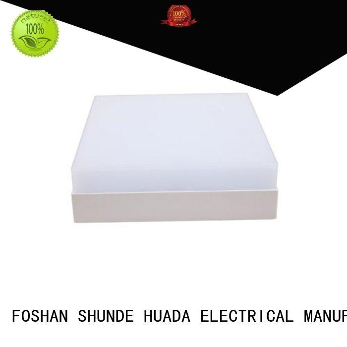 recessed led panel light 15w surface round Warranty HUADA ELECTRICAL