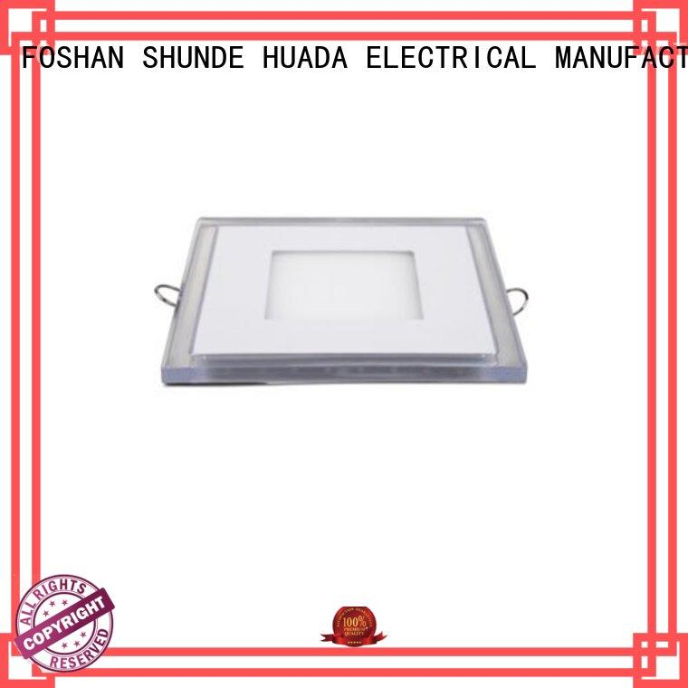 HUADA ELECTRICAL slim led panel light suppliers light square office
