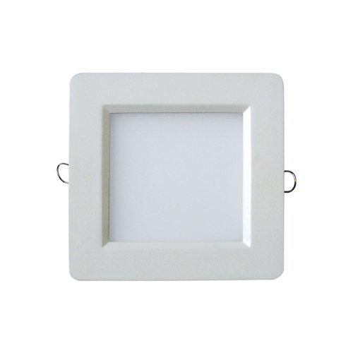 High Quality LED Die-Casting Panel Light 6W Square
