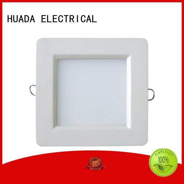 sale square diecasting 6 led recessed lighting panel HUADA ELECTRICAL