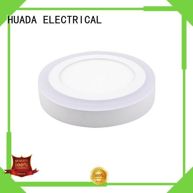 HUADA ELECTRICAL office standard custom led light panels light round for decoration