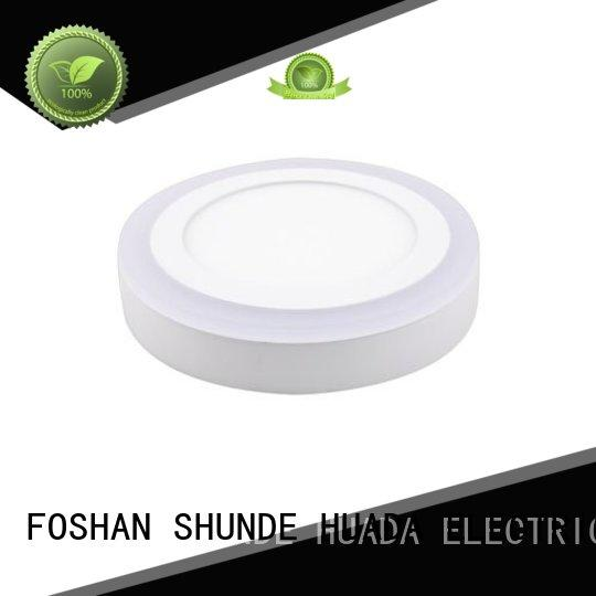 HUADA ELECTRICAL led surface panel light light square for decoration