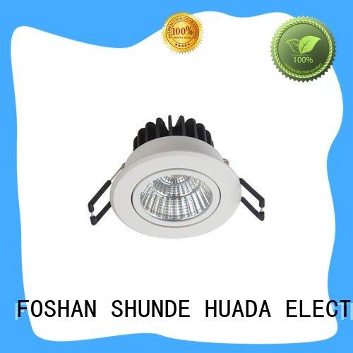HUADA ELECTRICAL price led indoor spotlight fixture light angle adjustable service hall