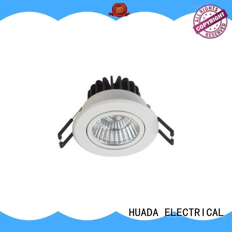HUADA ELECTRICAL recessed adjustable dimmable led downlights long lifetime school