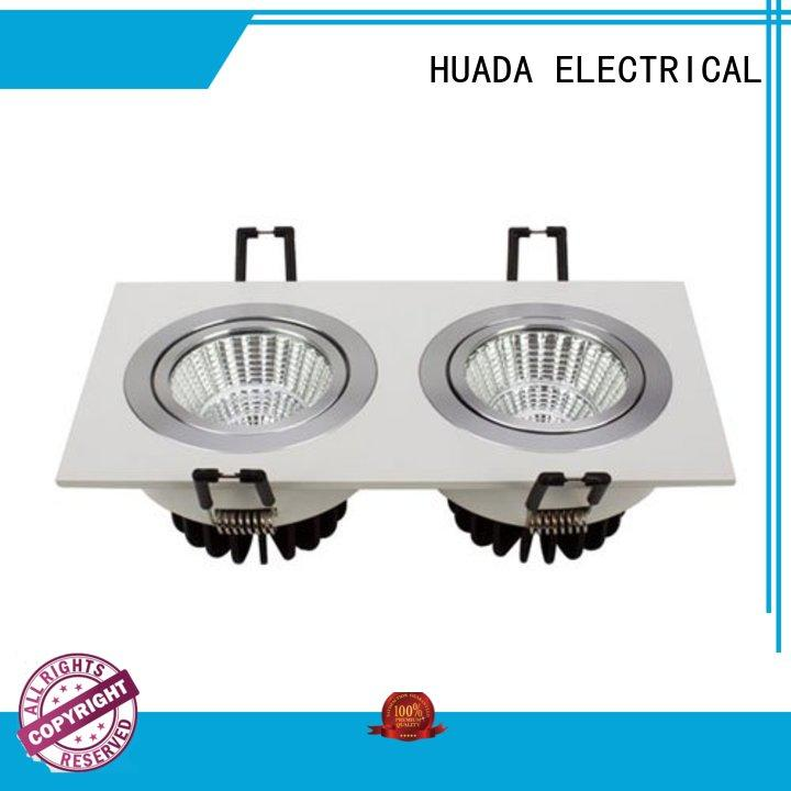 recessed square led spotlights dimmable service hall