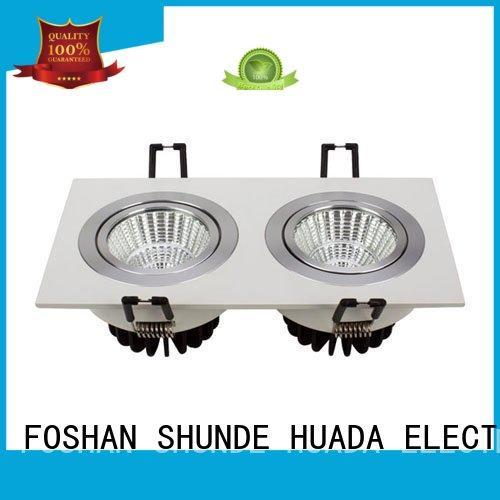 adjustable brightest led spotlight light square factory