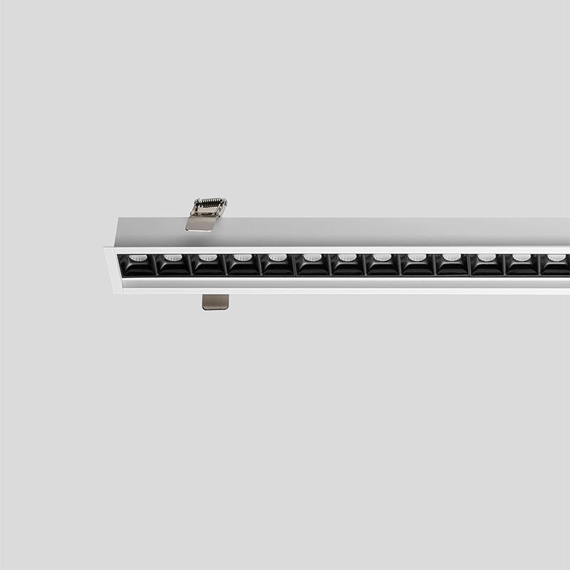 LED aluminum built-in smart office light 1208X56X35