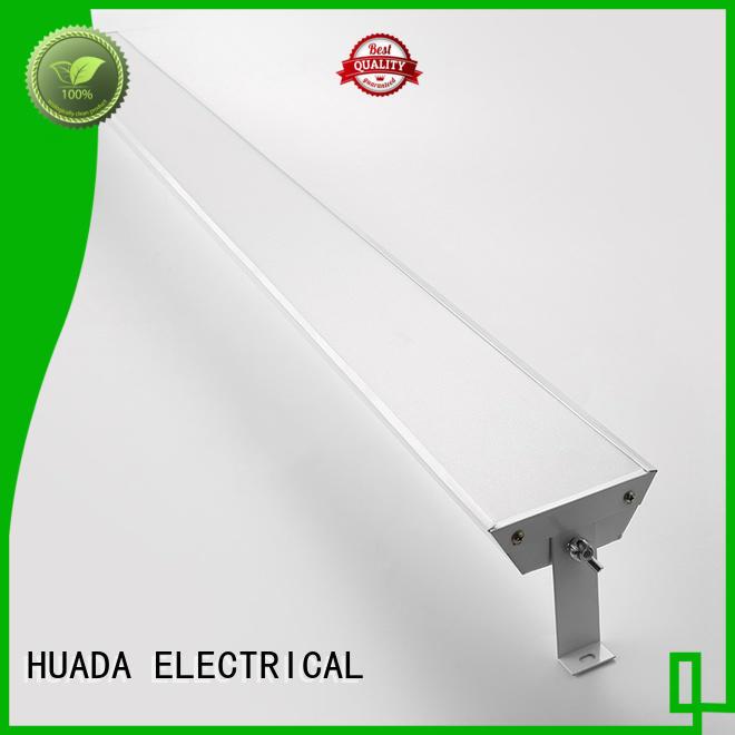 slim led flat panel light fixture energy saving service hall