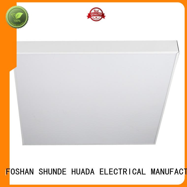 HUADA ELECTRICAL slim led flat panel light fixture energy saving factory