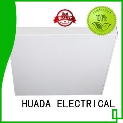 slim led flat panel light fixture 15w energy saving service hall